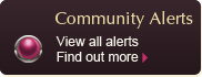 Community Alerts - View All Alerts
